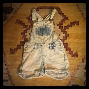 Overalls that are shorts